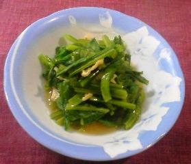 小松菜煮びたし